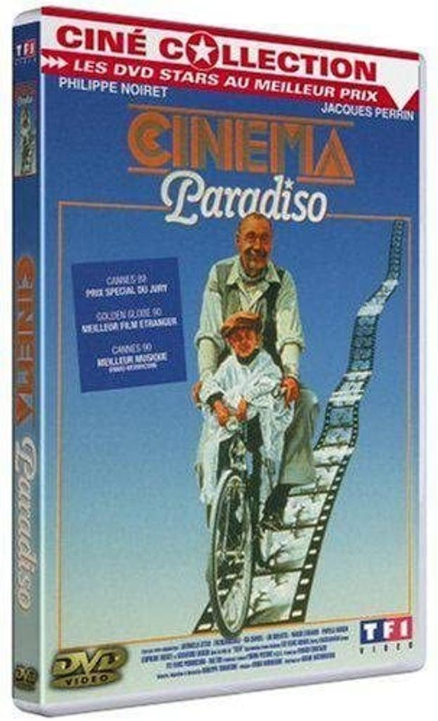 Cinéma Paradiso : un film / de Giuseppe Tornatore   Tornatore, Giuseppe. Metteur en scène ou réalisateur