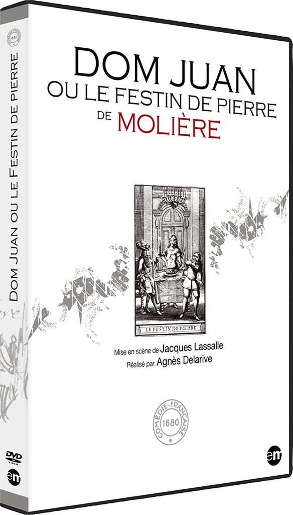 Dom Juan ou Le festin de pierre / de Molière   Molière, Jean-Baptiste Poquelin dit. Auteur