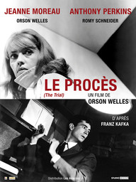 Le Procès / Orson Welles, réal. et scénario   Welles, Orson. Metteur en scène ou réalisateur. Scénariste. Interprète