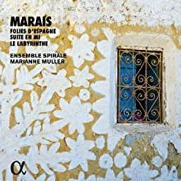 Les Folies D'Espagne. Suite en mi. Le Labyrinthe / Marain Marais | Marais, Marin