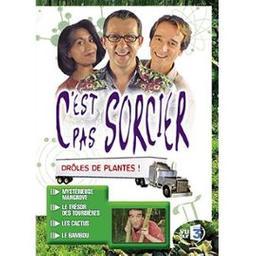 C'est pas sorcier : drôles de plantes ! / prés. par Fred, Jamy et Sabine   Courant, Frédéric