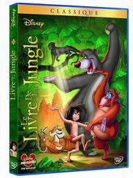 Le Livre de la jungle / Wolfgang Reitherman, réal. | Reitherman, Wolfgang. Metteur en scène ou réalisateur