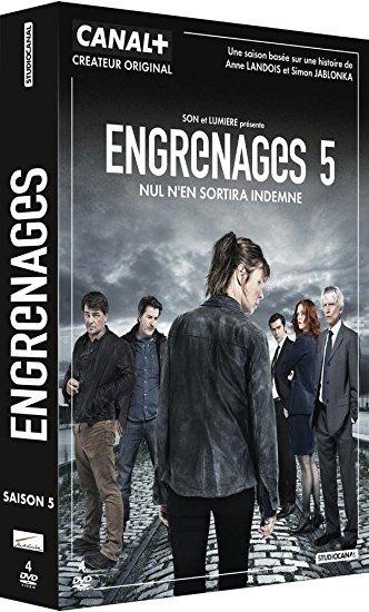 Engrenages 5 : Episodes 4 à 6 / Jean-Marc Brondolo, réal. | Brondolo, Jean-Marc. Metteur en scène ou réalisateur