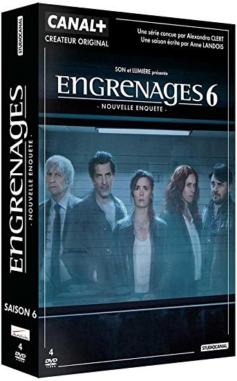 Engrenages 6 : Episodes 7 à 9 / Manuel Boursinhac, réal. | Boursinhac, Manuel. Metteur en scène ou réalisateur