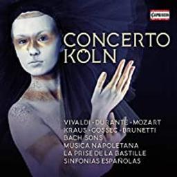 Concerto Köln / Antonio Vivaldi, Johann Christoph Friedrich Bach, Carl Philipp Emanuel Bach... [et al.]. | Vivaldi, Antonio