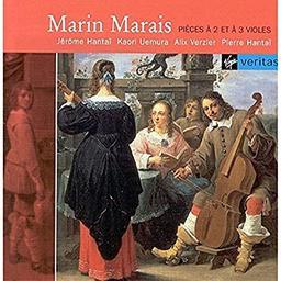 Pièces à 2 et à 3 violes / Marin Marais | Marais, Marin