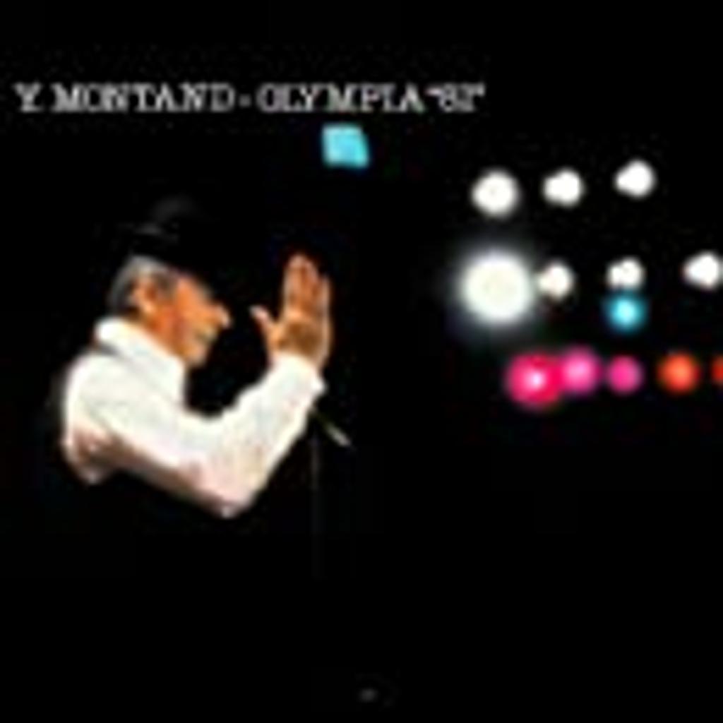 En concert : Olympia 81 / interprète, Yves Montand   Montand, Yves. Interprète