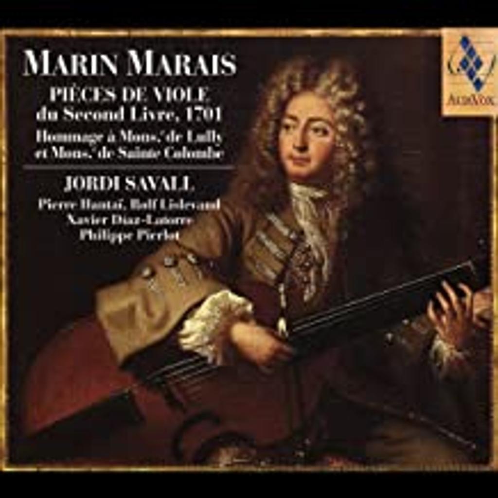 Pièces de viole du second Livre / Marin Marais   Marais, Marin